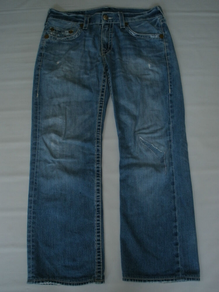 TRUE RELIGION BRAND JEANS SIZE 34 SALE RARE MADE IN USA ...