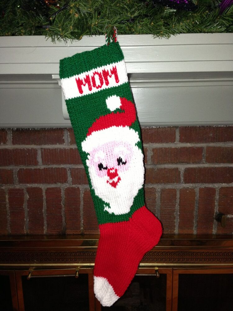 Custom Knit Christmas Stocking | Division of Global Affairs