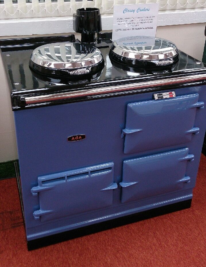 aga cooker fully refurbished two oven 13 amp aga in. Black Bedroom Furniture Sets. Home Design Ideas