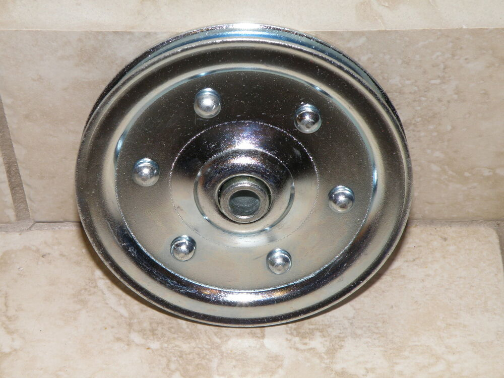 Garage Door Large 4 Quot Sheave Pulley Extension Spring