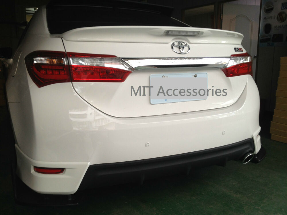 toyota corolla altis asia 2014 on abs led rear trunk lip. Black Bedroom Furniture Sets. Home Design Ideas