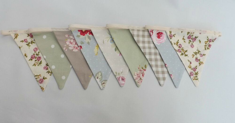 shabby chic bunting - photo #33