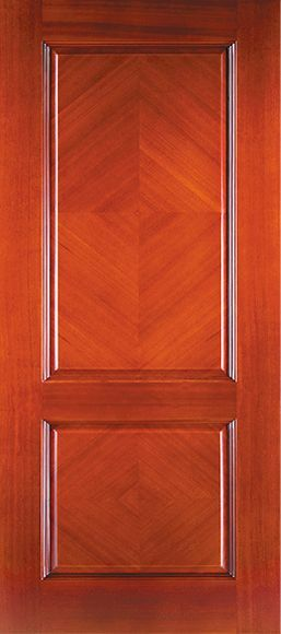 Mahogany solid wood door slab w finish ebay for How to finish a wood slab