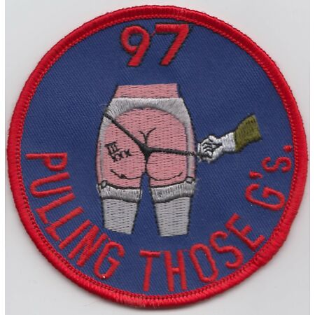 img-RAF no. 97 Course Royal Air Force Embroidered Crest Badge Patch