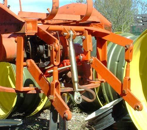 Tractor 3 Point Hitch Conversions : Allis chalmers b c point hitch hydraulic ram included ebay