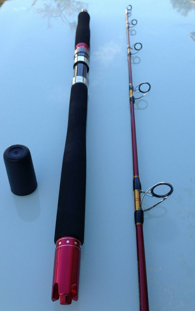 Nano carbon fibre ultimatum jigging fishing rod spinning 6 for Big game fishing rods