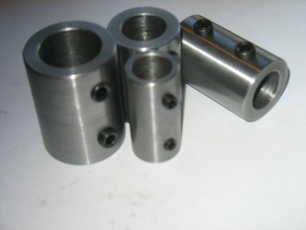 Steel Coupler 3 : Shaft coupling steel quot od id long set