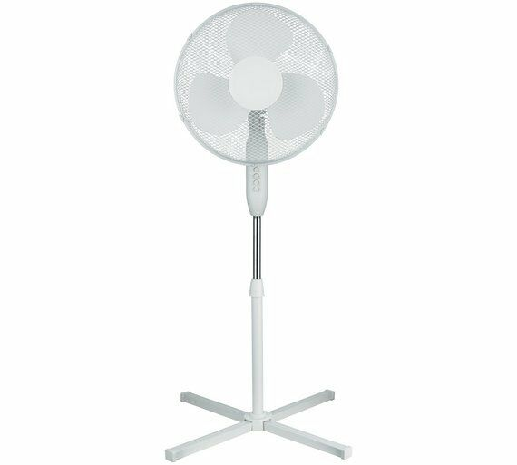 Big Stand Up Oscillating Fan : Quot pedestal fan oscillating mm stand up ebay