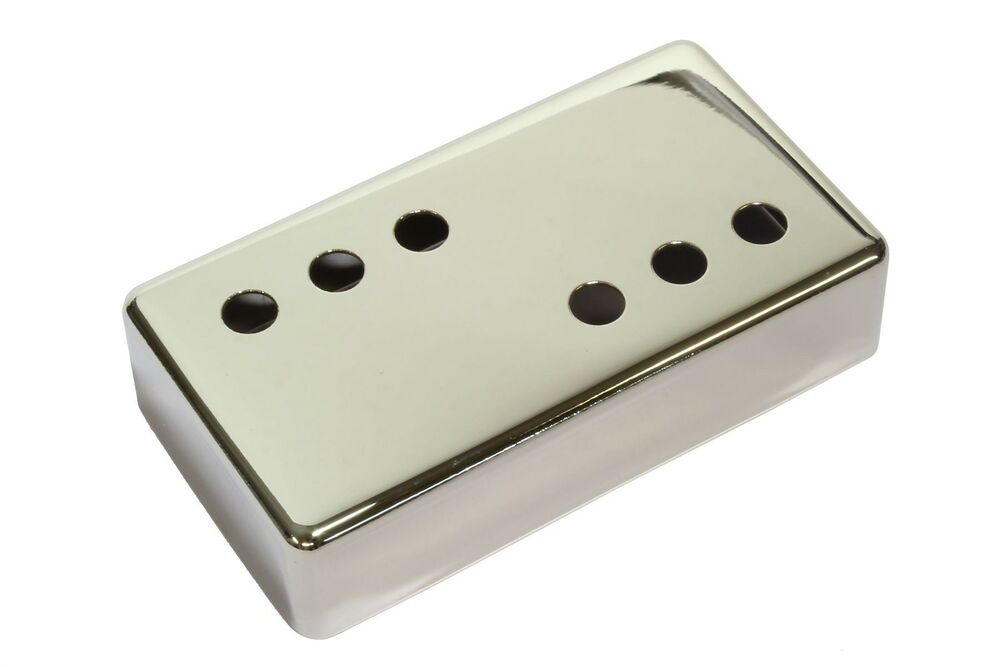 humbucker size pickup cover 3x3 nickel plated nickel silver 49mm ebay. Black Bedroom Furniture Sets. Home Design Ideas