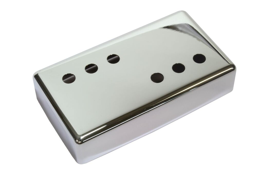 wide range humbucker pickup cover 3x3 chrome plated nickel silver 54mm ebay. Black Bedroom Furniture Sets. Home Design Ideas