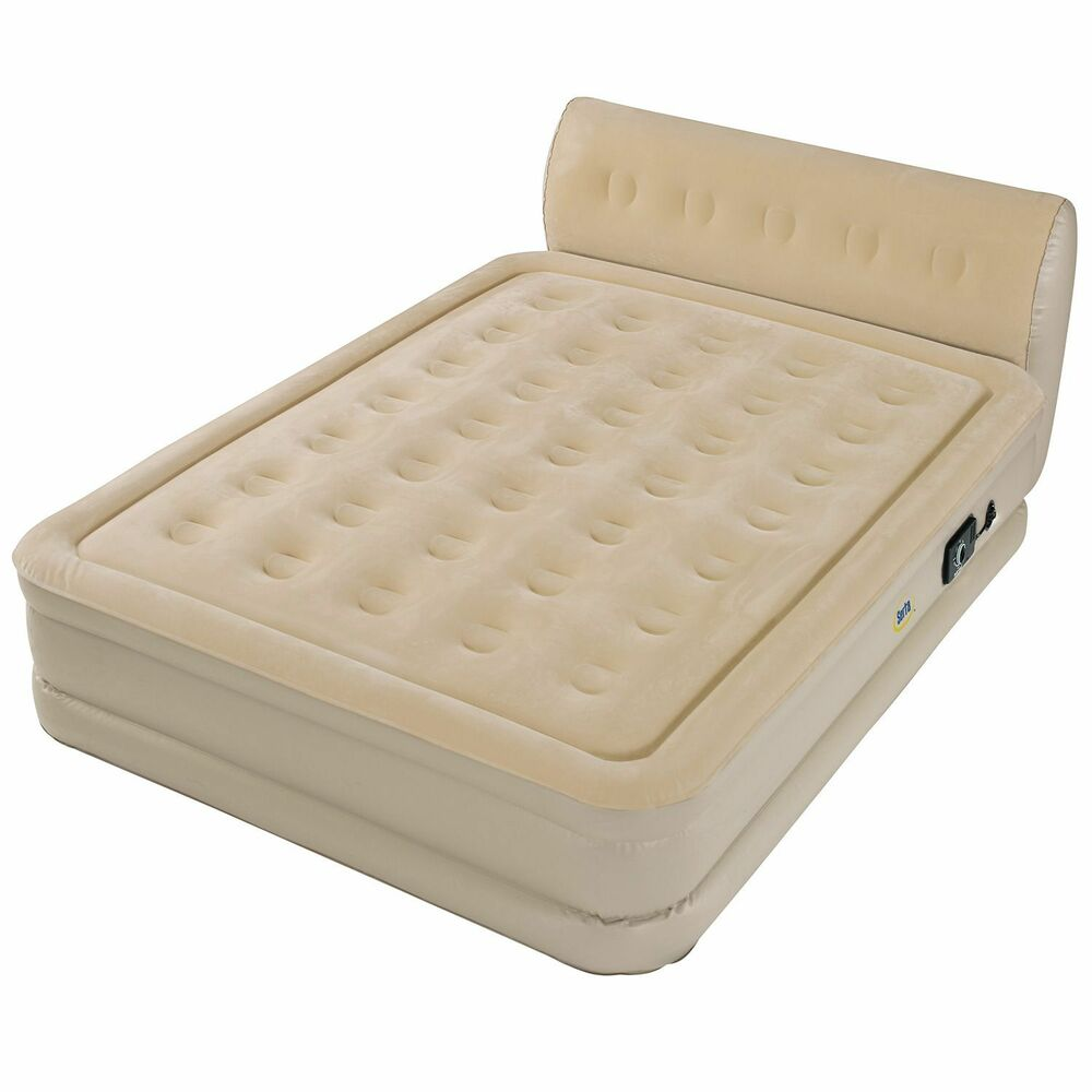 Queen Size Bed Mattress: Serta Perfect Sleeper Inflatable Queen Size Mattress Bed