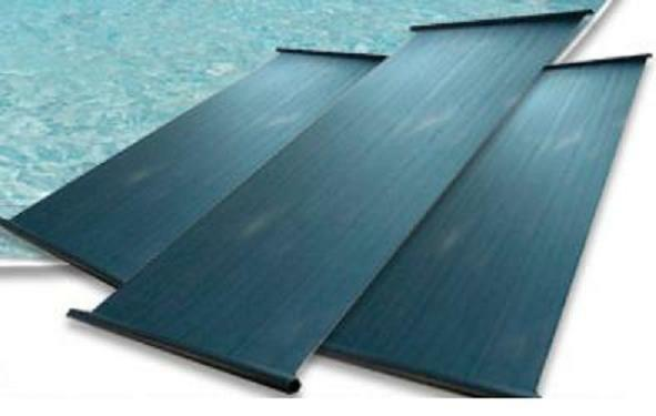 One 4x12 Panel Solar Pool Heater Heating Kit 1 5 Quot Header