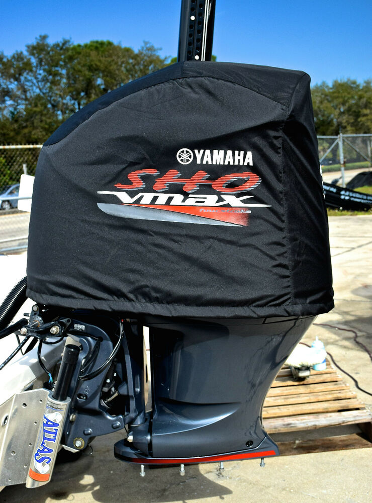 Yamaha outboard motor cover fits sho 200 225 250 2010 for Yamaha boat motor covers