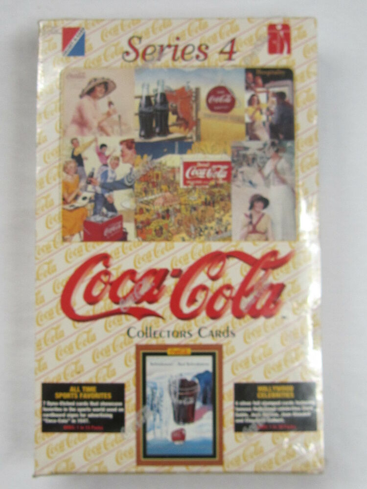 coca cola collector cards series 4 new ebay. Black Bedroom Furniture Sets. Home Design Ideas