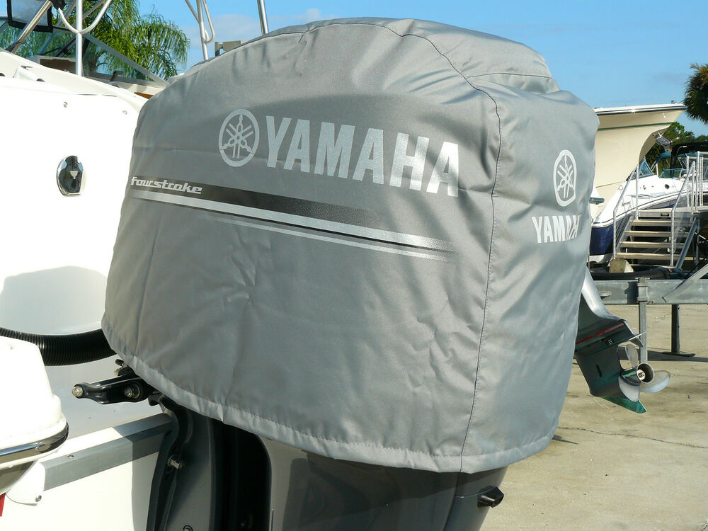 Yamaha mar mtrcv 11 25 deluxe outboard motor cover fits 3 for Yamaha boat motor covers