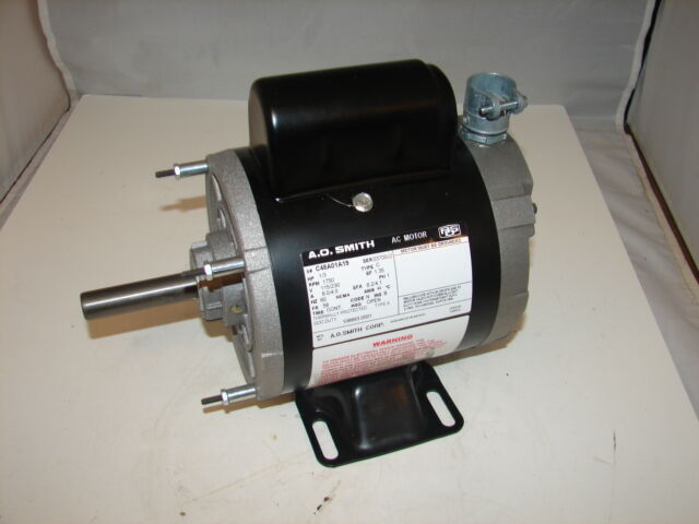 A o smith c48a01a19 1 3hp 115 230v 1750rpm ac for Ao smith ac motor 1 2 hp