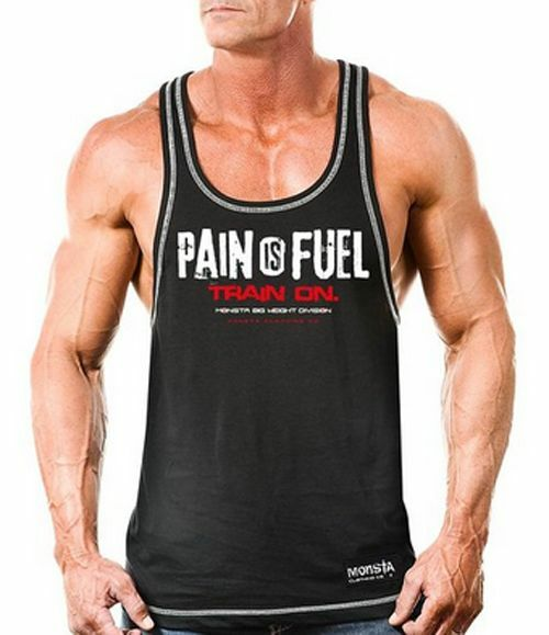 Monsta clothing workout bodybuilding gym wear pain for Dress shirts for bodybuilders