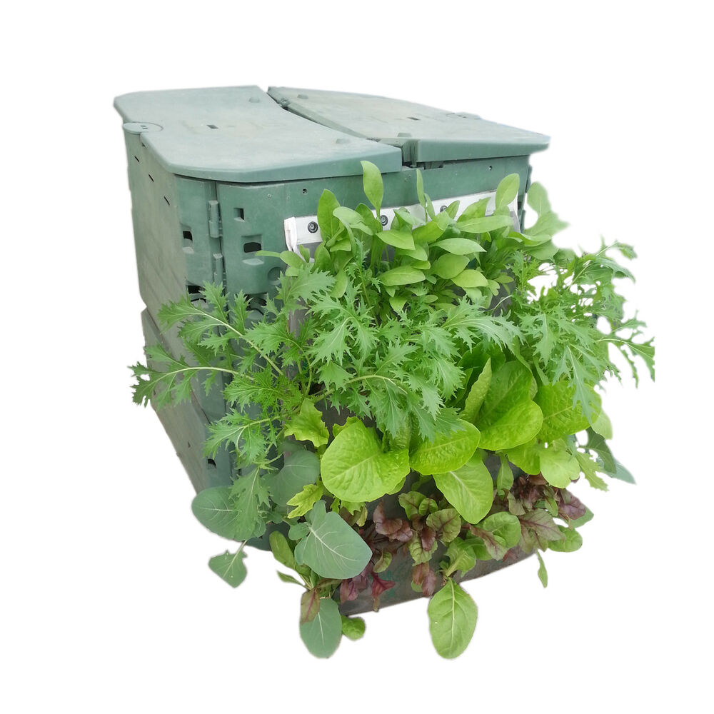 Vegetable grow bag - vertical planter for garden and composter | eBay