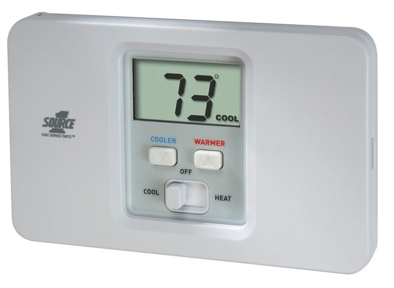 Source 1 S1-thec11ns S1thec11ns Non-programmable Thermostat