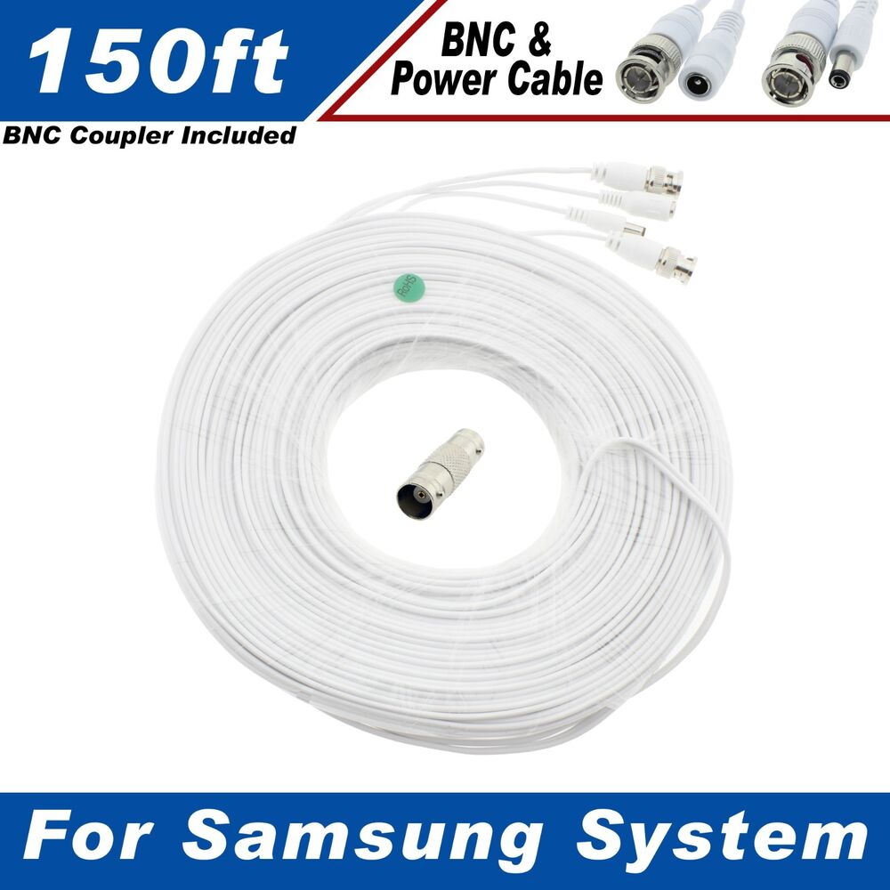 150 Ft Security Camera Cable For Samsung Sds P5102