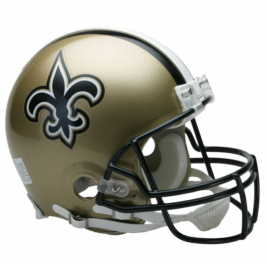 NEW ORLEANS SAINTS RIDDELL NFL FULL SIZE AUTHENTIC PROLINE ...