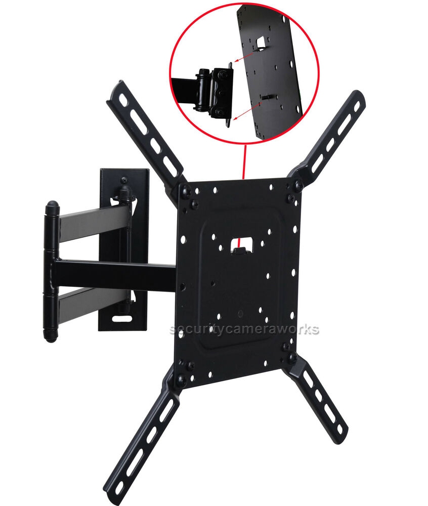 Full Motion Tilt Tv Wall Mount Bracket For Lg Samsung