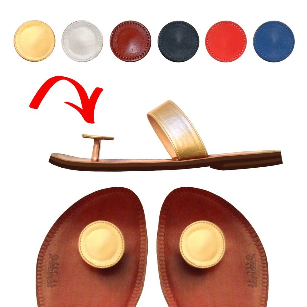 Paduka Sandals  Unique Leather Toe Post Womens New Shoes -3317