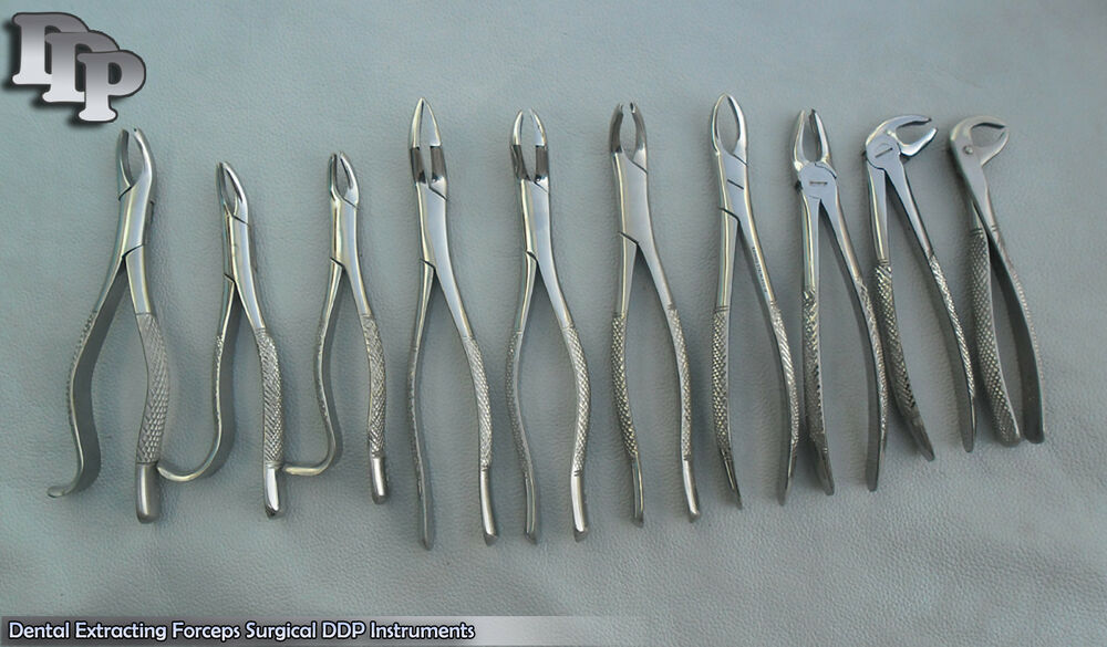 dental extraction instruments names and pictures pdf