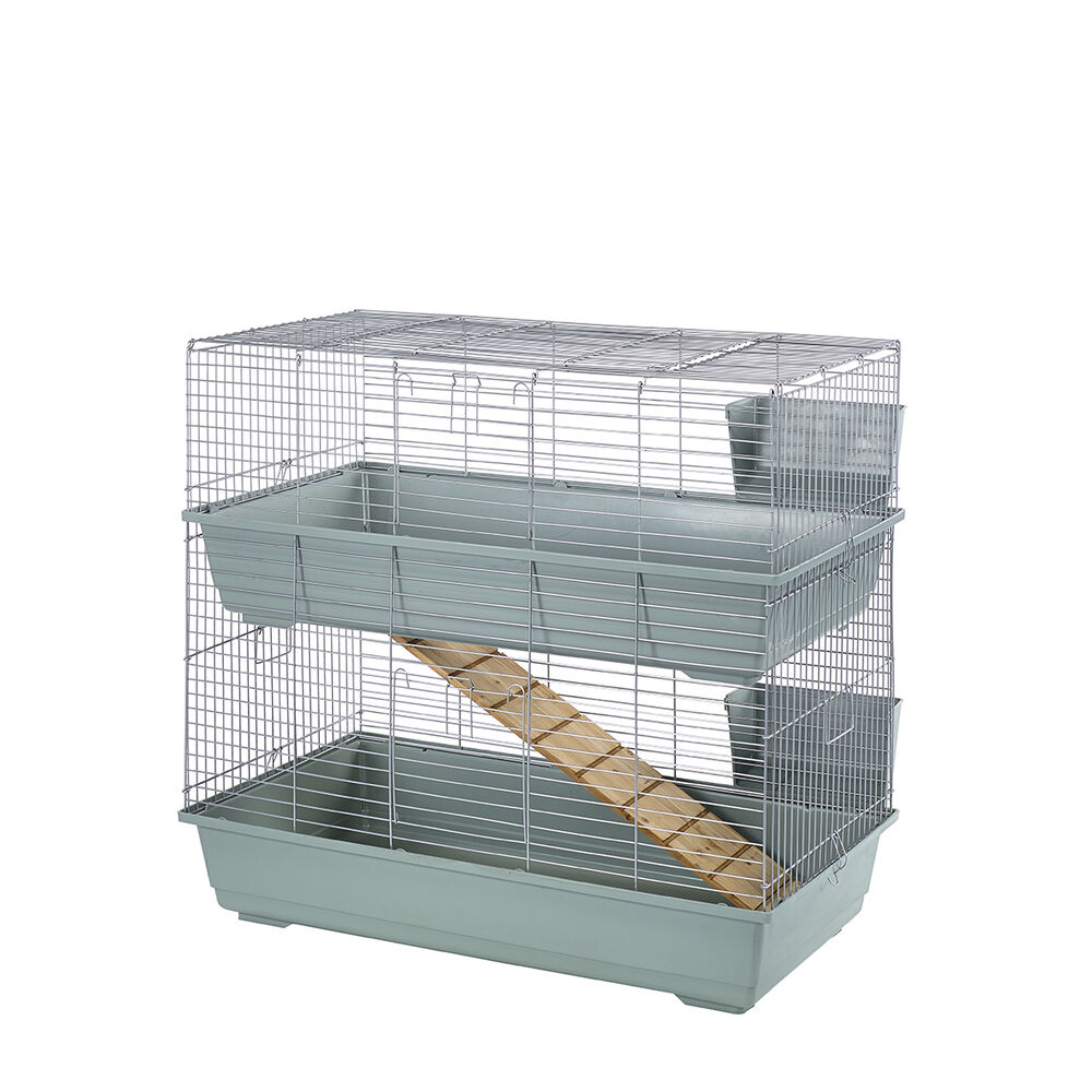 large indoor double decker rabbit guinea pig 100 cage
