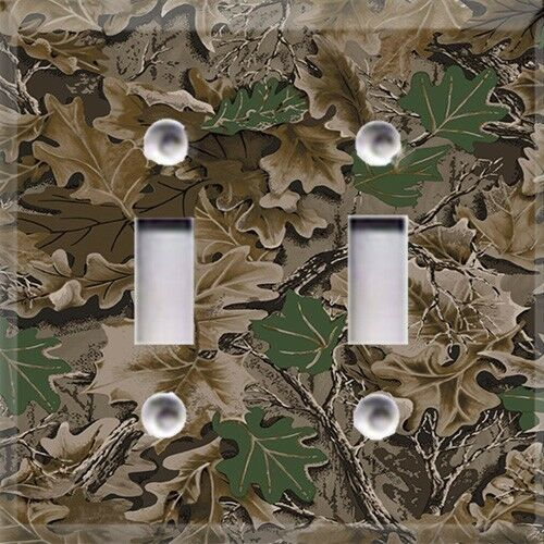 Http Ebay Com Itm Duck Camouflage Camo Light Switch Plate Cover Hunting Cabin Home Decor 121341128180