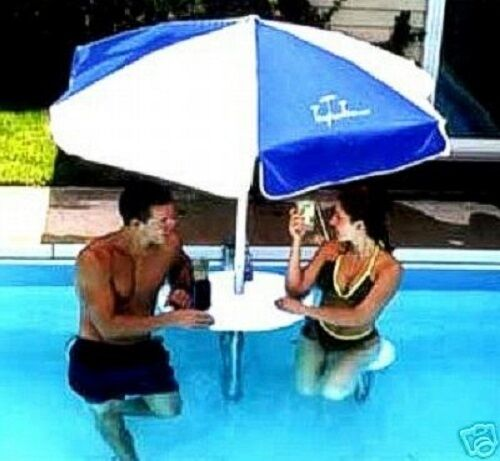 New pool bar inground pool swimming poolbar thepoolbar for Poolside table and chairs