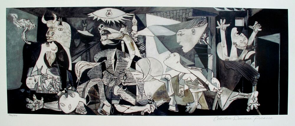Pablo Picasso GUERNICA Estate Signed Limited Edition ...