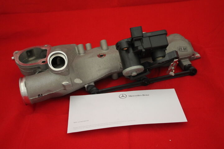 Genuine Mercedes-Benz OM642 Engine Inlet Manifold With ...