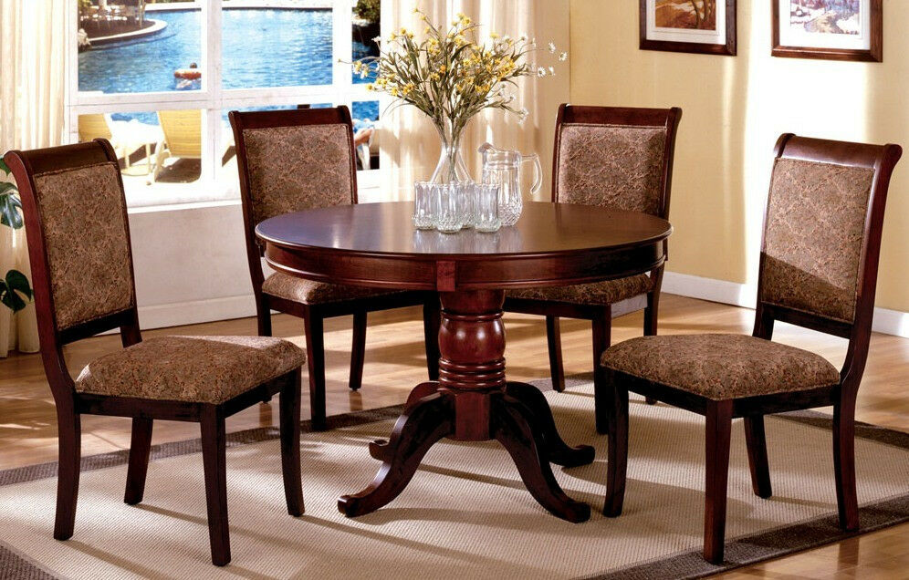 dining set furniture stylish dining table w 4 chairs