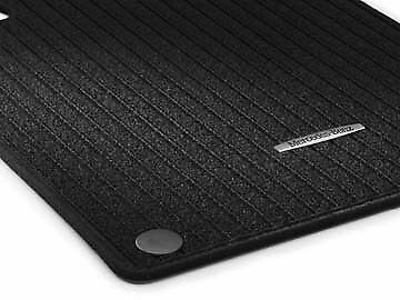 Genuine mercedes benz w204 c class saloon estate ribbed for Mercedes benz car floor mats