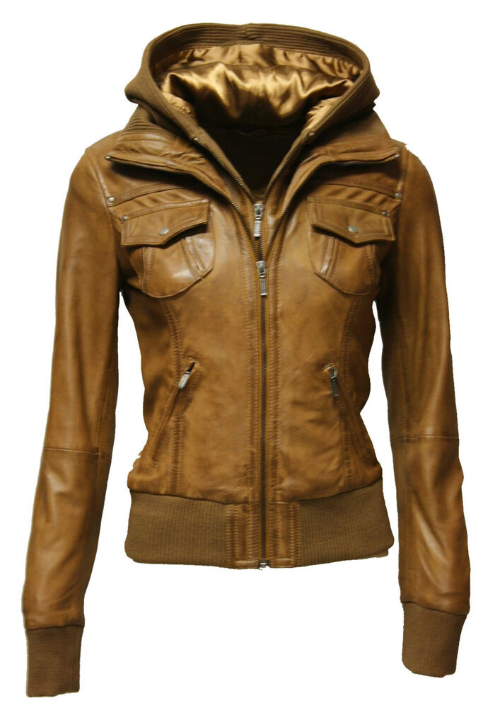 damen lederjacke blouson lammnappa feinstes leder washed braun grau cognac ebay. Black Bedroom Furniture Sets. Home Design Ideas