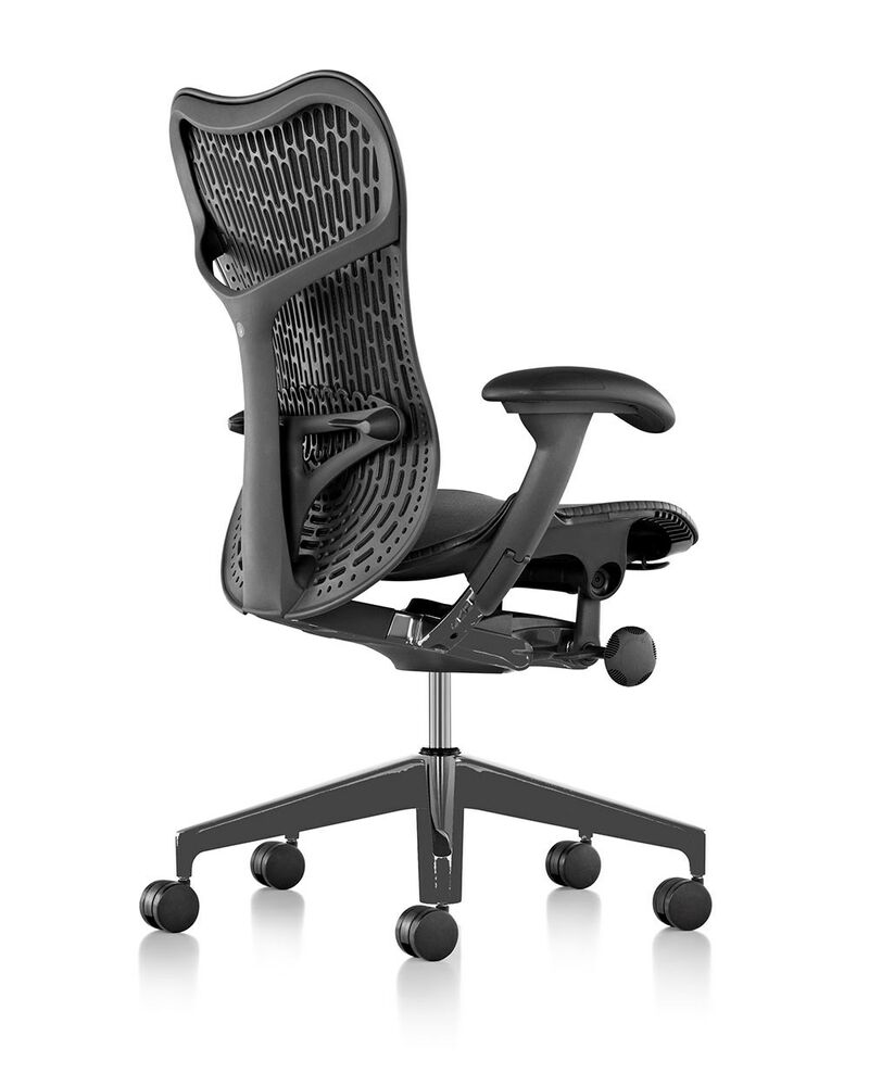 new herman miller mirra 2 home office chair black graphite 12 year