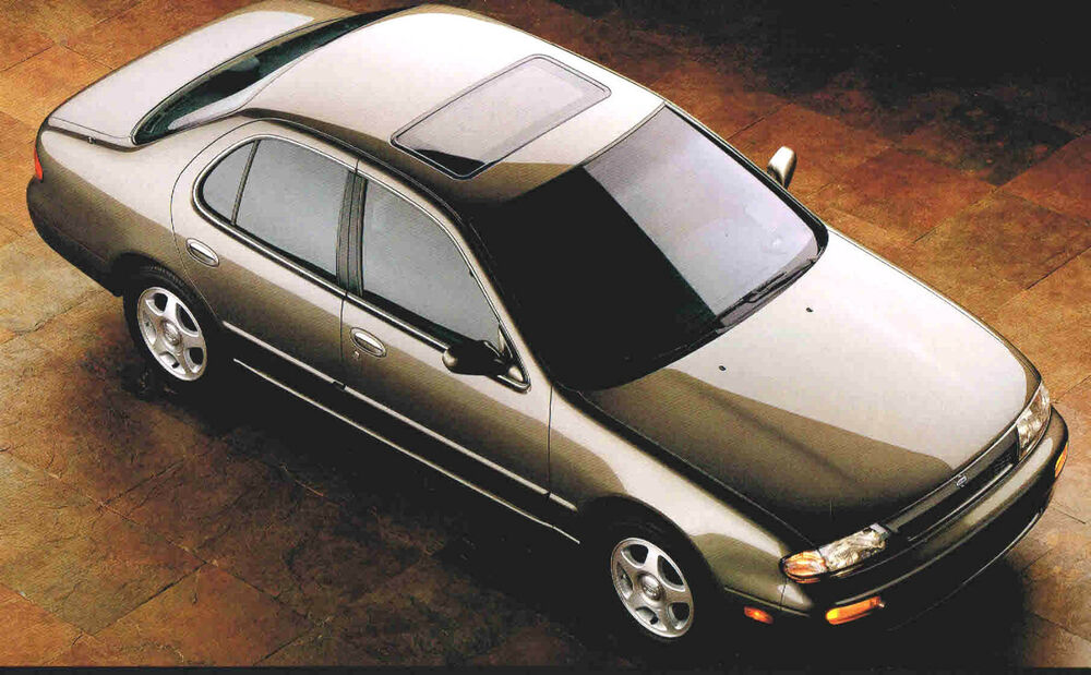 1993 nissan altima brochure   catalog gle se gxe xe ebay 2003 Nissan Maxima Owners Manuals Nissan Owners Manual PDF