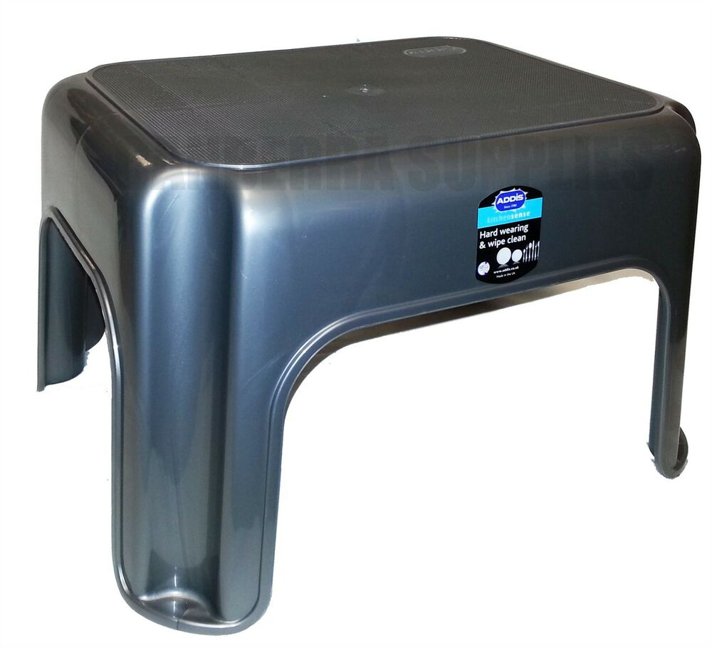 Addis Kitchen Garage Bathroom Step Stool Heavy Duty