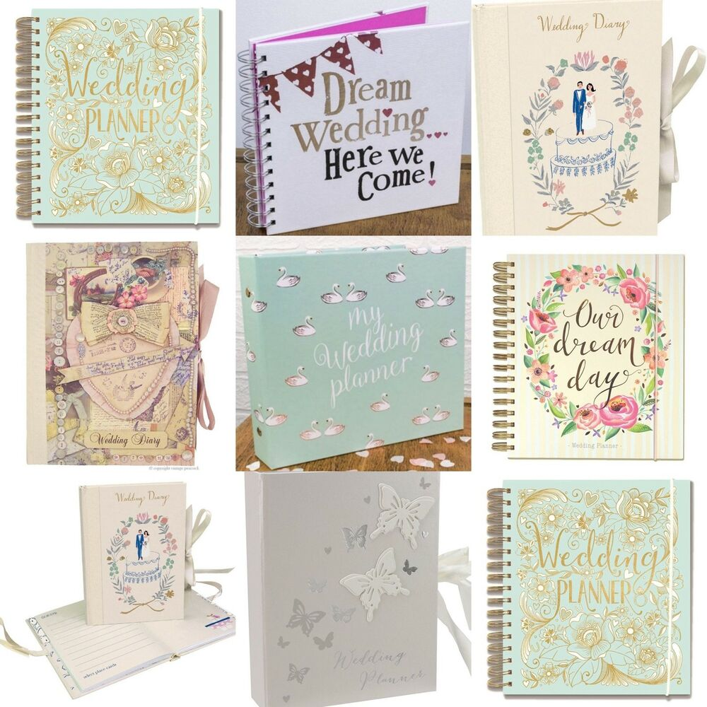 Wedding Planner Gifts: Wedding Planner Book (Diary/Journal/Organiser) Engagement