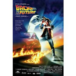 Kyпить BACK TO THE FUTURE - MOVIE POSTER / PRINT (REGULAR STYLE) (SIZE: 24