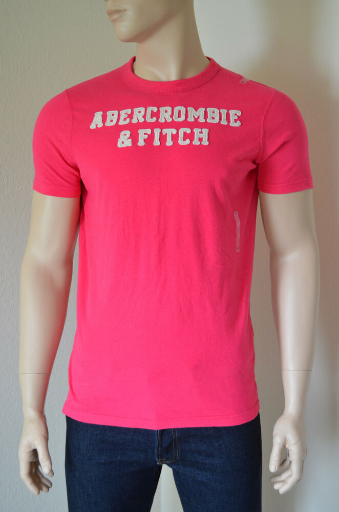 New abercrombie fitch cellar mountain pink tee t shirt l for Abercrombie and fitch tee shirts