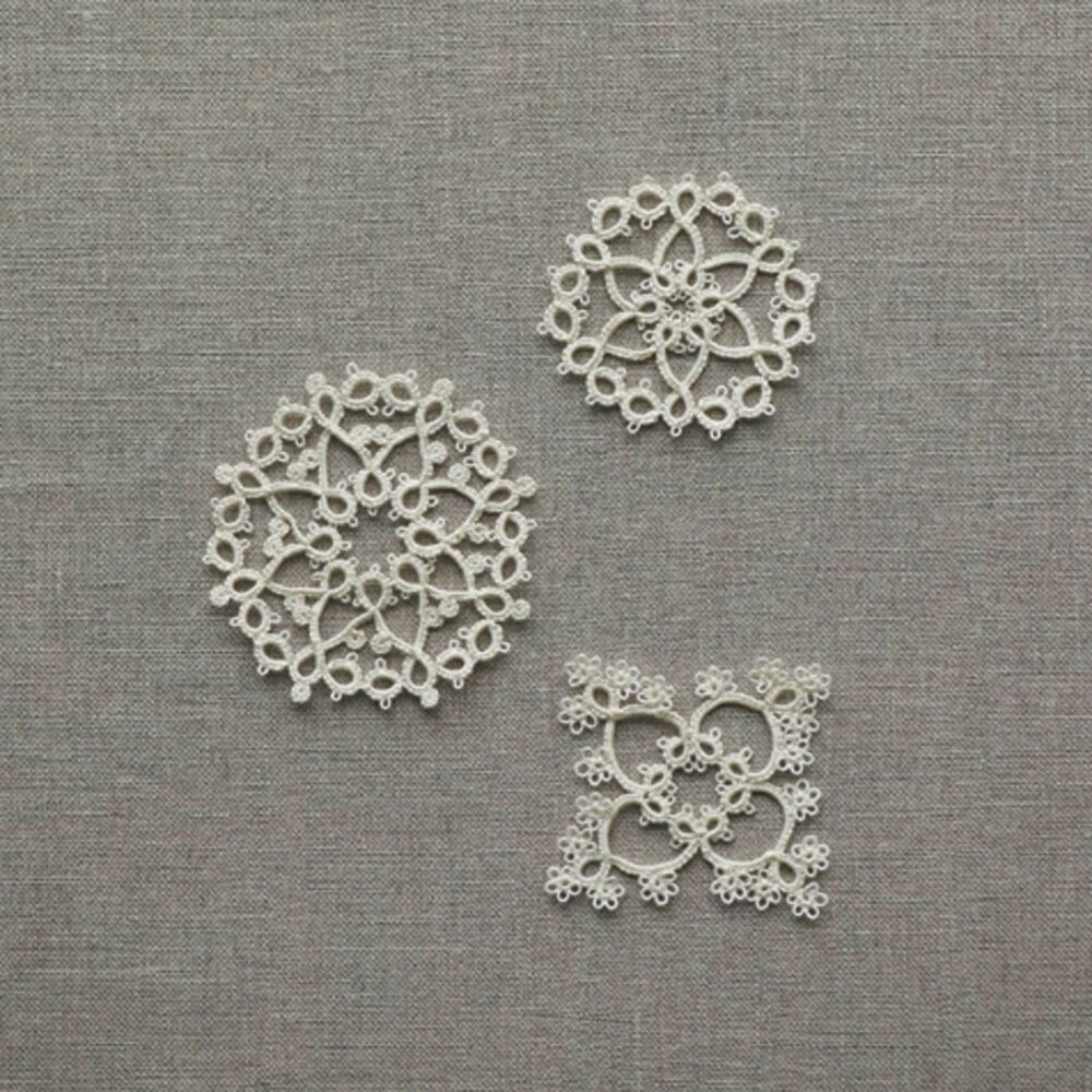 Tatting Lace 3 Patterns
