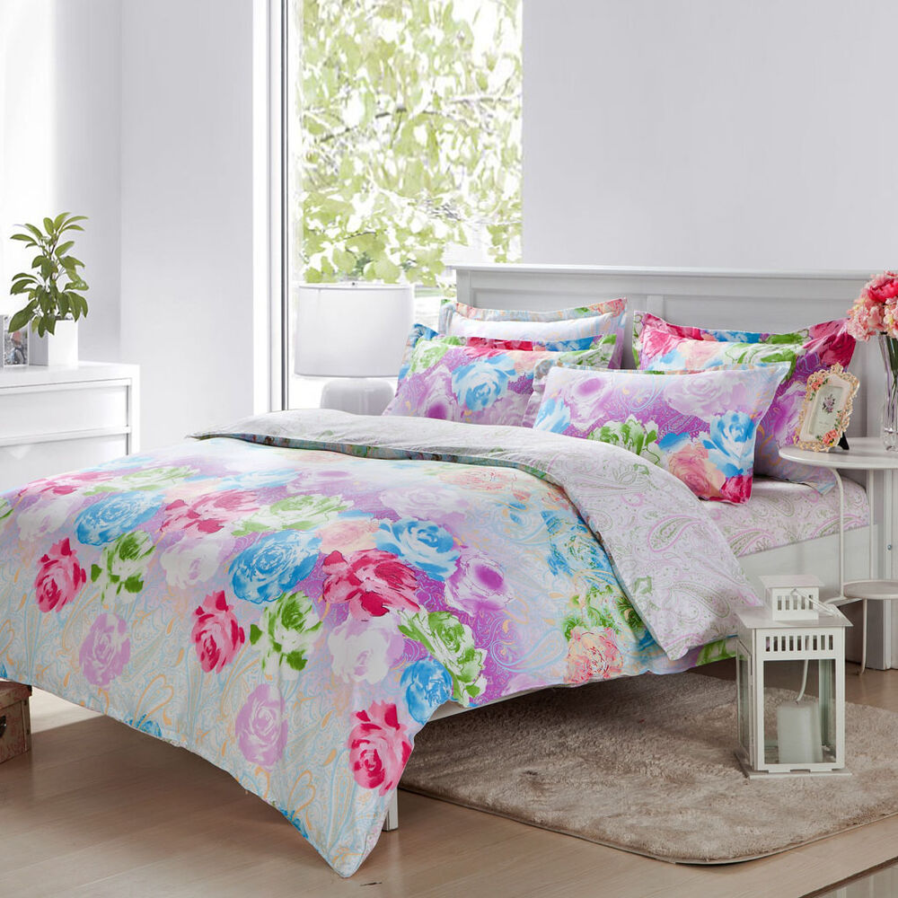 Flower Bed Sets Diaidi Floral Bedding Set Flower Print