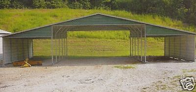 32x21 All-Steel Metal Carport, Garage INSTALLED Priced for ...