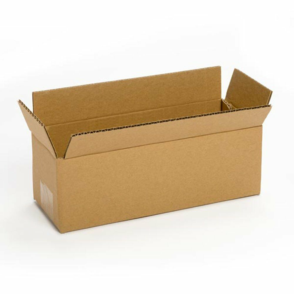 25 new 12x4x4 packing shipping boxes cartons free 2 day shipping ebay. Black Bedroom Furniture Sets. Home Design Ideas