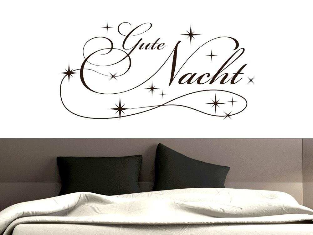 wandtattoo f r schlafzimmer wandtatoo aufkleber spr che. Black Bedroom Furniture Sets. Home Design Ideas