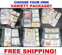 ( 56 ) EXTREME COUPON SLEEVES Binder Organizer Holder PAGES SET - MAKE YOUR OWN!