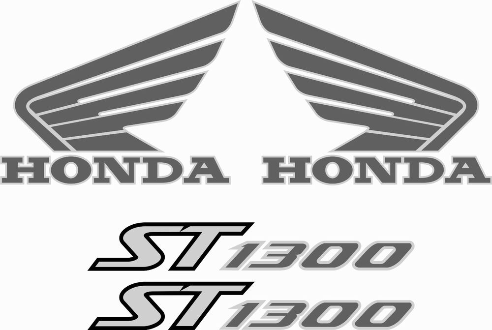 hon pan european st1300 replacement stickers decals