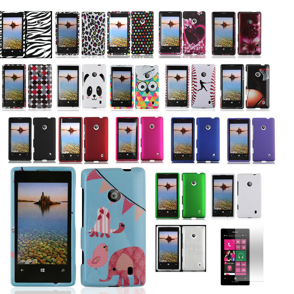 Review T Mobile Nokia Lumia 521: Nokia Lumia 521 T-Mobile Hard Shell Snap-On Case Cover